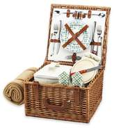 Picnic at Ascot Cheshire Picnic Basket For 2 with Blanket in Gazebo