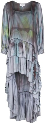 Collina Strada Garden tie-dye silk dress