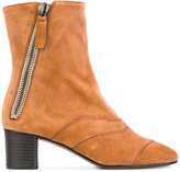 Chloé Lexie ankle boots - women - Leather/Suede - 37