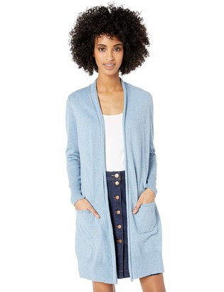 Chaps Women's Long Sleeve Cotton Modal-Cardigan Sweater