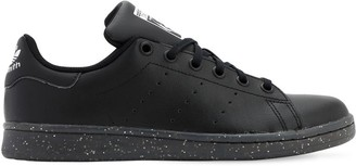adidas Stan Smith Leather Sneakers W/ Glitter