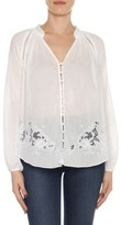 Joe's Jeans Women's Flora Cotton Lawn Blouse