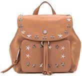 Jimmy Choo Suki backpack - women - Lamb Skin/Brass - One Size