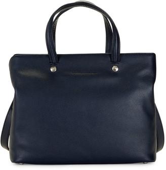 Longchamp Textured Leather Satchel