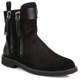 Giuseppe Zanotti Giuseppe x Zayn ZIGI Double Zip Boots