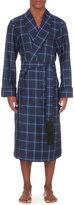 Derek Rose Checked Wool Dressing Gown