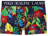 Polo Ralph Lauren Hibiscus Print Trunks, Navy
