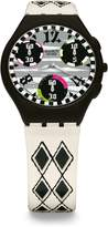 Swatch Women's Skin Chronograph Strap watch #SUYB118