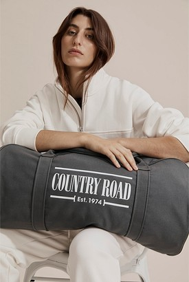 Country Road Heritage Zip Canvas Tote
