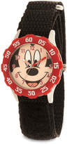 Disney Mickey Mouse Stainless Steel Time Teacher Watch - Kids