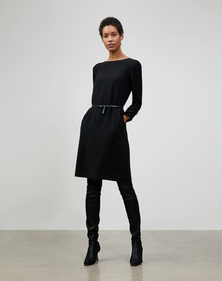 Lafayette 148 New York Petite Finesse Crepe Romilly Dress