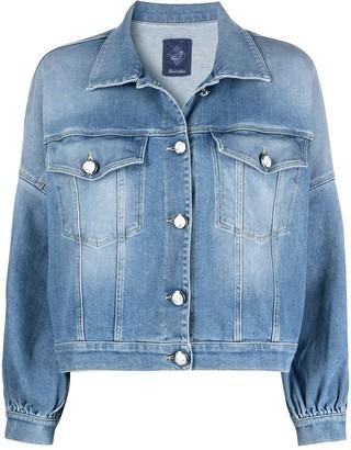 Jacob Cohen Logo-Buttons Denim Jacket