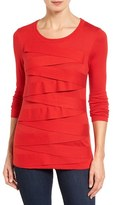 Vince Camuto Petite Women's Zigzag Sweater