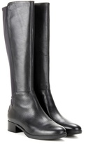Tory Burch Caitlin Stretch Leather Knee-high Boots