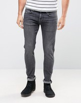 Pepe Jeans Pepe Finsbury Powerflex Skinny Jeans Stone Wash