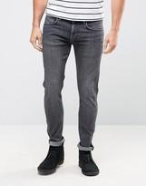 Pepe Jeans Pepe Finsbury Powerflex Skinny Jeans Stone Wash