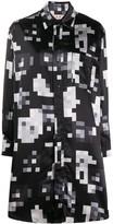 Marni graphic print shirt dress