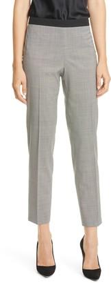 HUGO BOSS Tiluna Straight Leg Stretch Wool Suit Pants