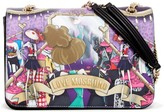 Love Moschino Cartoon Printed Convertible Shoulder Bag