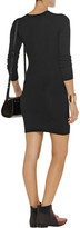 Alexander Wang Ribbed stretch-jersey mini dress