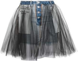 Taverniti So Ben Unravel Project Mini Skirt