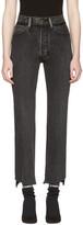Vetements Black Levi's Edition Classic Reworked Denim Jeans