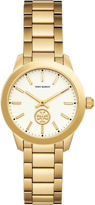 Tory Burch Collins Watch, Gold-Tone, 32 MM