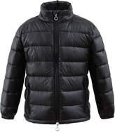 Hiheart Unisex Children Lightweight Down Jacket Stand Collar Down Coat(6/7,)