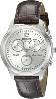 Tissot Men's T0494171603700 PR100 Chronograph Dial Watch
