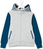 Stella McCartney zip up hooded jacket