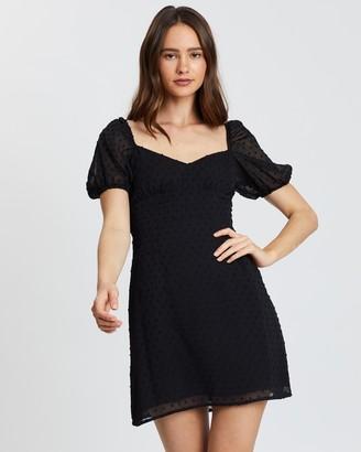 Atmos & Here Atmos&Here Maria Sheer Sleeve Dress