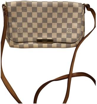 Louis Vuitton Favorite Beige Cloth Handbags