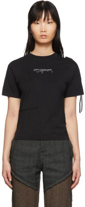Ottolinger Black Fitted T-Shirt