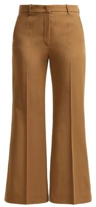 Joseph Rone Virgin-wool Trousers - Womens - Tan