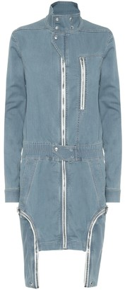 Rick Owens DRKSHDW denim minidress