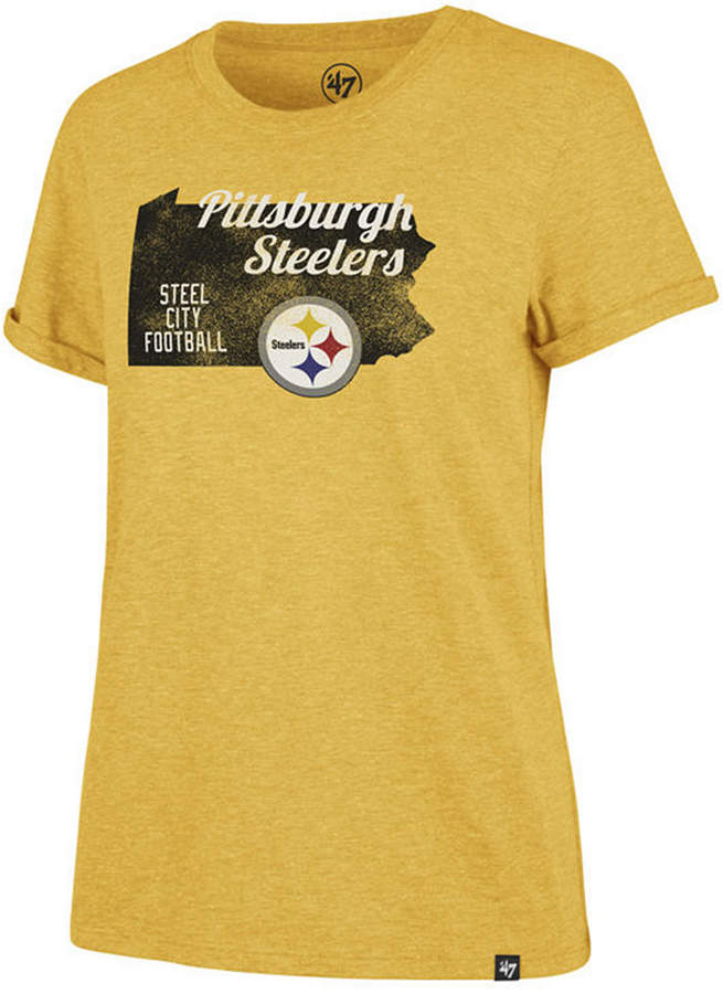 premium selection 9b667 d3c6d Women Pittsburgh Steelers State Love T-Shirt