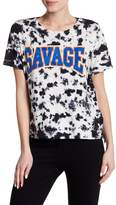 Eleven Paris ELEVENPARIS Savage Short Sleeve Tie Dye Tee