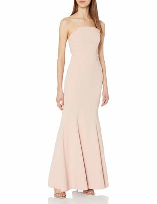 Jill Stuart Jill Women's Strapless Fitted Column Gown