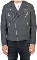 Neil Barrett Wool Biker Jacket