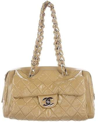 Chanel Quilted Bowler Bag