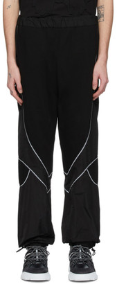 McQ Black Swallow Logan Track Pants