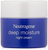 Neutrogena Deep Moisture Night cream, 2.25 Ounce (Pack of 3)
