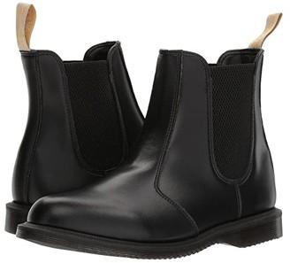 Dr. Martens Vegan Flora (Black Felix Rub Off) Women's Shoes