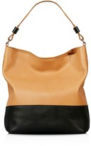 Shinola Relaxed Color Block Leather Hobo