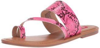 UNIONBAY womens Royal Flat Sandal