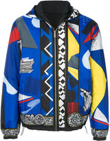 Versace graphic print jacket