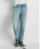 Express slim fit rocco light stretch slim leg jean