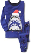 Gap Glow-in-the-dark shark sleep set