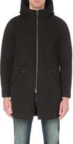 Diesel W-blender hooded cotton jacket