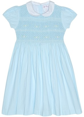 Rachel Riley Smocked cotton dress